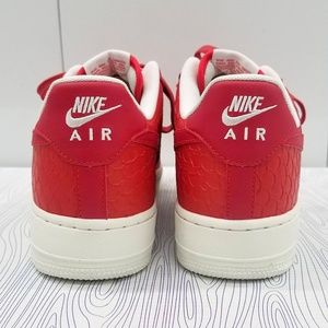 sports shoes f2d4f 0fc41 Nike Shoes - Brand New Nike Air Force One  07 LV8 ACTION RED